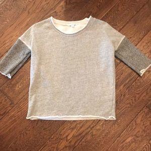 Shortsleeved Sweatshirt